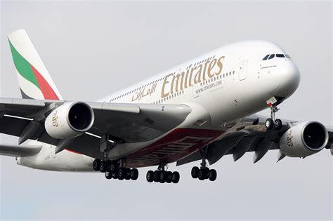 File Emirates A380 Landing At Heathrow Jpg