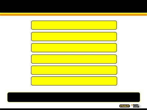 stanley black decker inc form 8 k ex 99 1