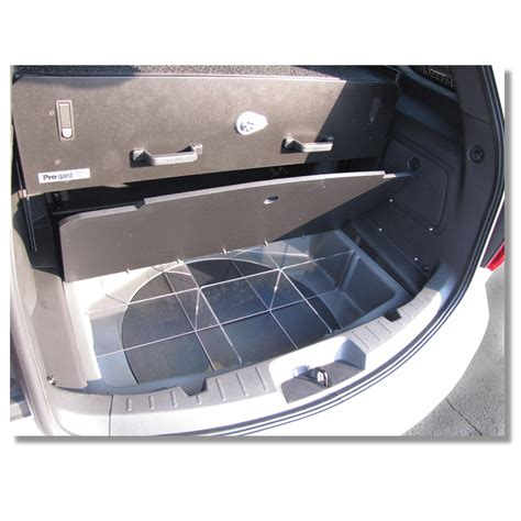 Cargo Drawers For Suv by 2013 2014 Ford Pi Utility Weapon Storage Drawer Pro Gard
