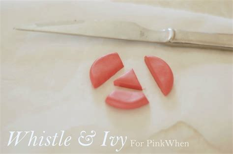 how to make steunk jewelry tutorial diy polymer clay geometric earring tutorial pinkwhen