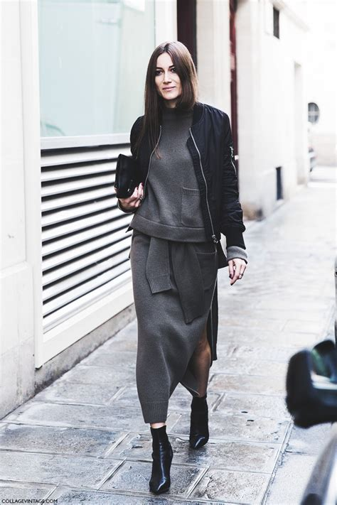 whats in style for 2015 fashion street style pfw iv collage vintage