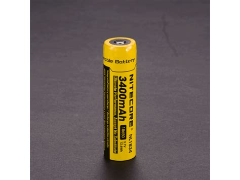Nitecore 18650 Rechargeable Li Ion Battery 3400mah 3 7v Nl1834 nitecore 18650 3400mah rechargeable li ion battery nl1834 3 7v 18650 batteries in india