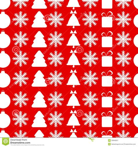 christmas pattern red and white christmas seamless pattern royalty free stock photography