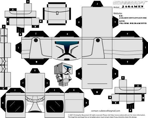 Wars Papercraft Templates - clone comandes cubeecraft by jagamen on deviantart