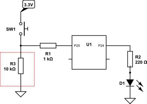 how does pull resistor work gpio how do pull resistors work raspberry pi stack exchange