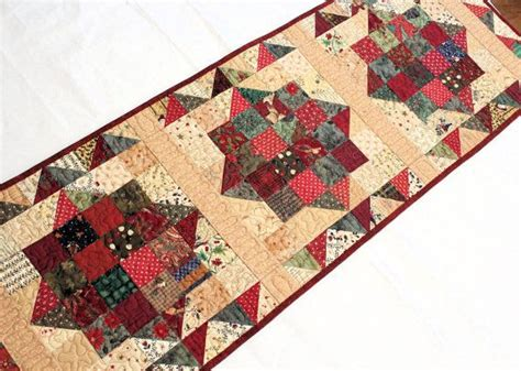 country style table runners scrappy country christmas table runner quilt christmas