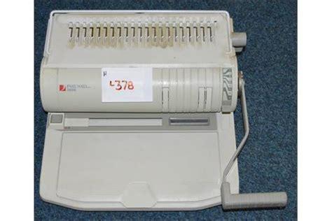 1 x rexel cb350 comb binder binding machine manual a4 ring binder ref l378 2f cl110 no va