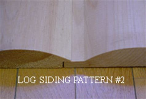 log siding patterns ward pine mill wood products