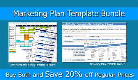 marketing packet template marketing plan bundle marketing template builder and