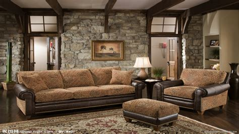 rustic living room furniture set country living