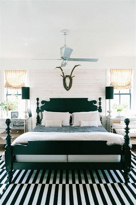 black and white bedroom decor how to enhance a d 233 cor with a black and white striped rug