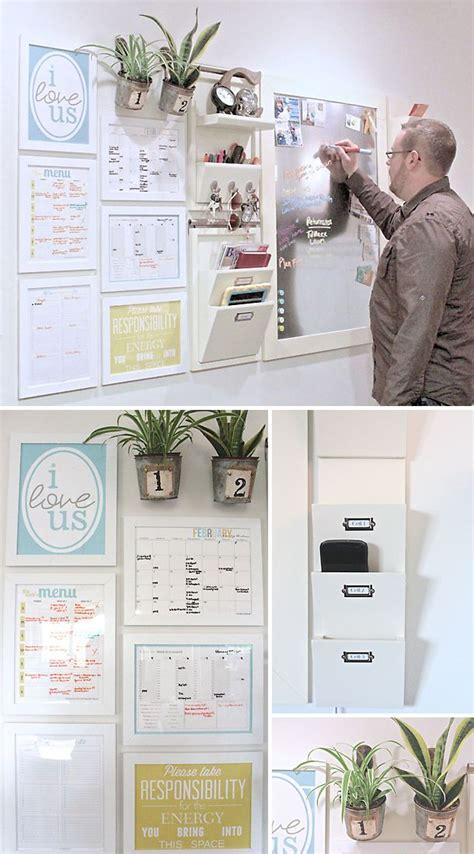 kitchen message center ideas 25 best ideas about kitchen message center on pinterest