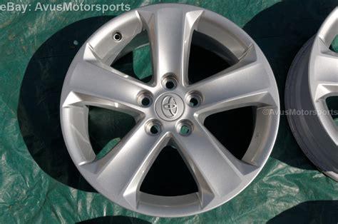 Toyota Rav4 Wheels 2013 Toyota Rav4 Oem 17 Quot Wheels Tacoma Camry Solara