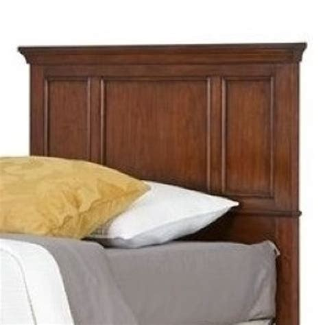 twin cherry headboard hawthorne collections twin panel headboard in cherry hc