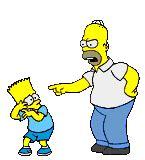 imagenes gif valores gifs animados de los simpson gif de homero bart lisa