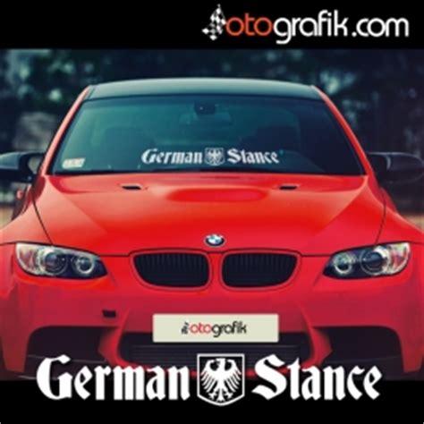 german stance oen cam oto sticker otografik