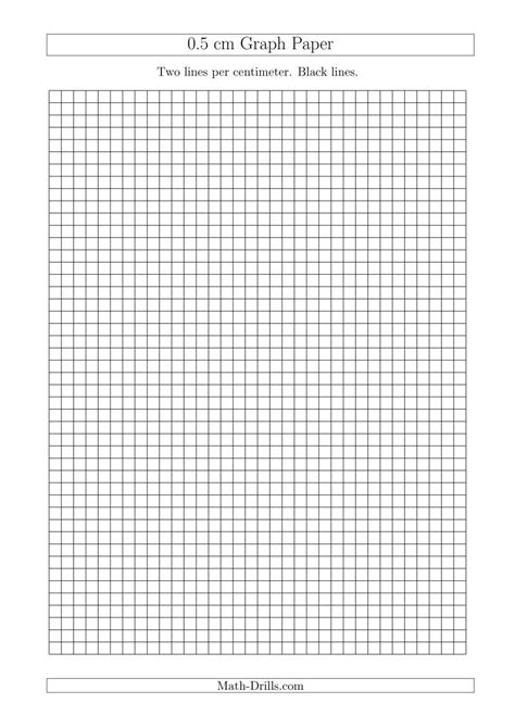 printable graph paper math drills printable cm graph paper grid