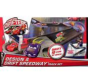 Micro Drifters Design N Drift Speedway Track Playset Race 9 Cars At