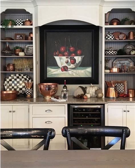 mackenzie childs kitchen ideas transition home decor with the textures of fall