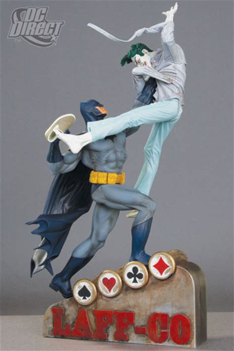 Batman Vs Joker Statue collection stash a collector and artist platform for building and your collection