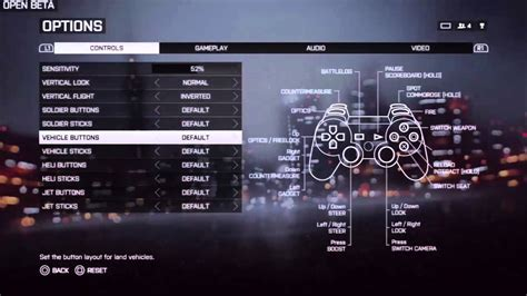 ps4 layout youtube battlefield 4 open beta menu ps3 friends list options