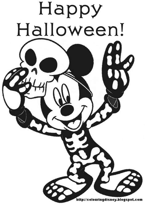 disney pumpkin coloring pages disney coloring page with mickey mouse for halloween