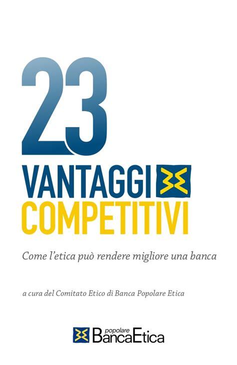 banco popolare you web 23 vantaggi competitivi come l etica pu 242 rendere