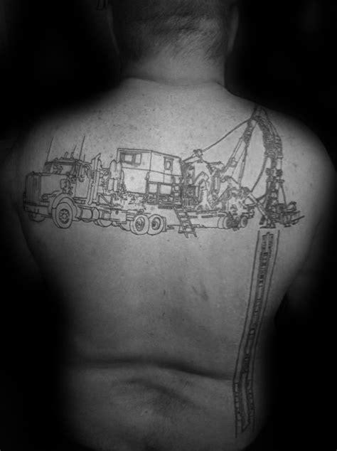 40 Oilfield Tattoos For Men - Oil Worker Ink Design Ideas