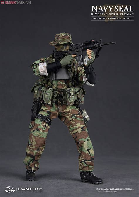 Tas Army Wordland Navy Seal dam modern us navy seals rifle woodland camouflage fashion doll item picture3
