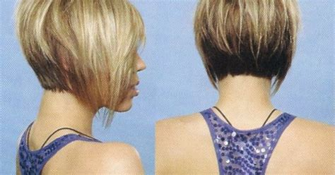 back view of razored ends side and back view of cute razored bob heather i want my