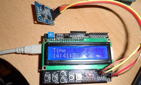 code arduino clock lcd clock project arduino learning
