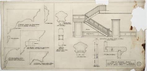 Cornice Bracket Crossword 90 best images about stair drawings on stairs fireplaces and interior