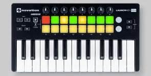 Alat Dj Mini alat dj keyboard controller novation launchkey mini