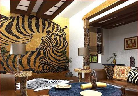 exotic trends  home decorating bring animal prints