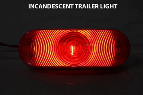 led trailer lights vs incandescent trailer lights