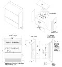 Woodworking Industry Trends Simple Bat House Plans Three Story House Plans With Bat