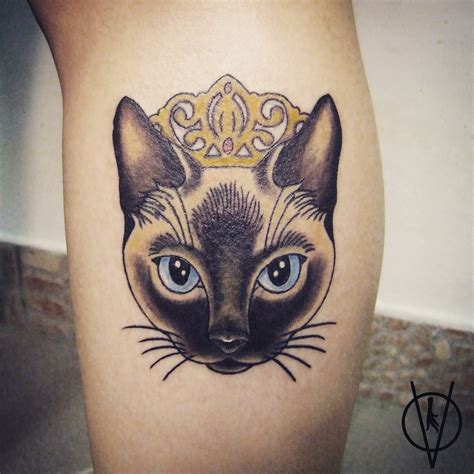 siamese cat tattoo siamese cat pinteres