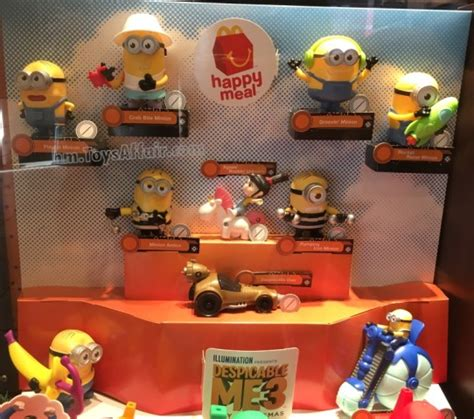 Happy Meal Despicable Me3 despicable me 3 happy meal toys