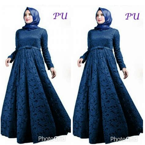 Maxi Talita Talita Gamis Talita Talita Dd baju gamis pesta brokat a185 busana muslim modern