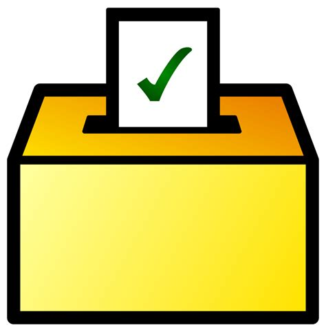 svg color file ballot box icon color svg