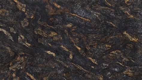 Orion Gold Black & Gold Granite for Kitchen Countertops