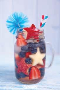 4th of july drink recipes diy cocktails for mason jars