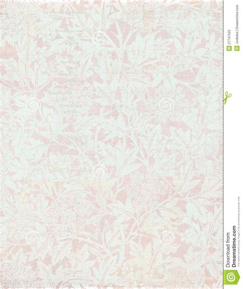 shabby chic vintage floral background stock photos image