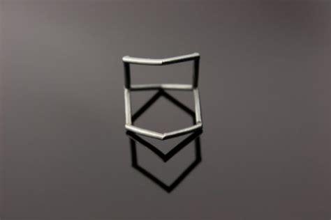 geometric pattern ring swissmiss simple geometric rings