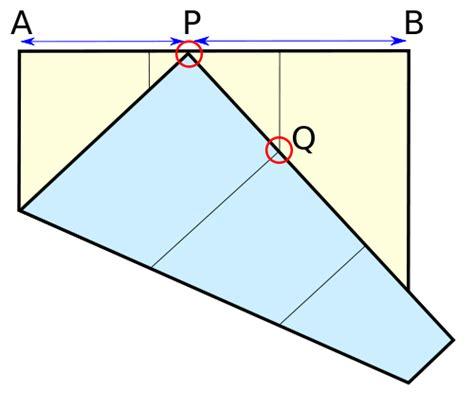 Paper Folding Problem - dropsea i rompicapi di giocare con la carta