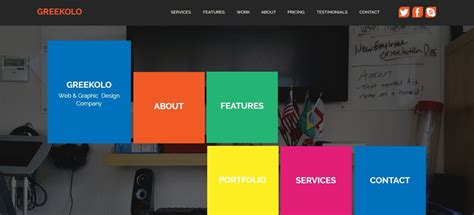 Muse Template 30 best adobe muse templates september 2015 edition