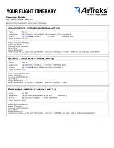Flight Itinerary Template by Pin Flight Itinerary Template Excel Image Search Results