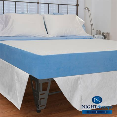 Memory Foam Mattress And Bed Frame Set Therapy 8 Quot Mygel 174 Memory Foam Mattress Bed Frame Set King Home Mattresses