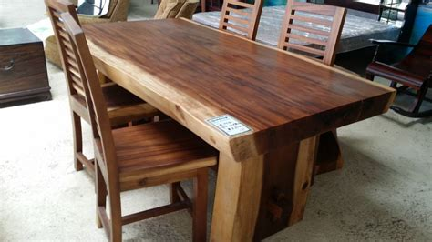 Dining Table And Bench Set Singapore Suar Dining Tables Singapore Classifieds