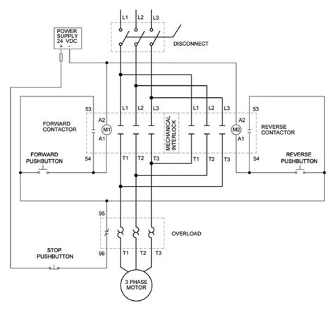 ac motor starter wiring diagram wiring diagram and